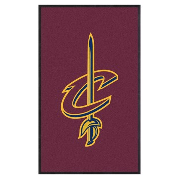 Picture of Cleveland Cavaliers 3X5 High-Traffic Mat with Durable Rubber Backing