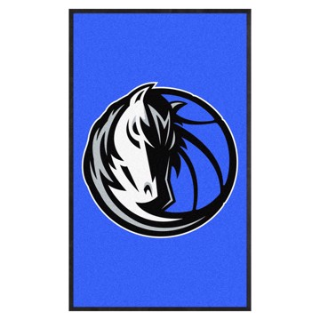 Picture of Dallas Mavericks 3X5 High-Traffic Mat with Durable Rubber Backing