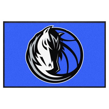 Picture of Dallas Mavericks 4X6 High-Traffic Mat with Durable Rubber Backing