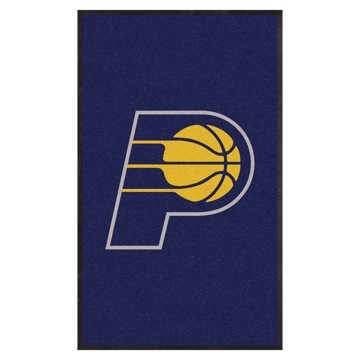 Picture of Indiana Pacers 3X5 High-Traffic Mat with Durable Rubber Backing