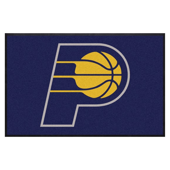 Picture of Indiana Pacers 4X6 High-Traffic Mat with Durable Rubber Backing