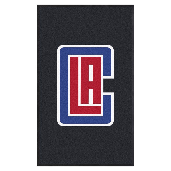 Picture of Los Angeles Clippers 3X5 High-Traffic Mat with Durable Rubber Backing