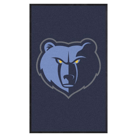 Picture of Memphis Grizzlies 3X5 High-Traffic Mat with Durable Rubber Backing