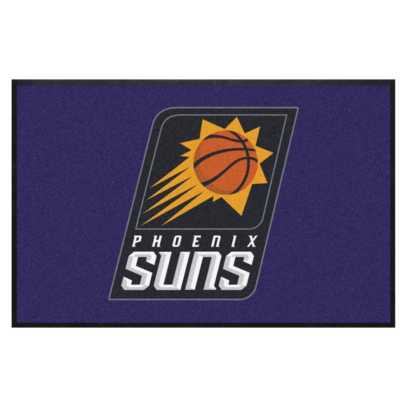 Picture of Phoenix Suns 4X6 High-Traffic Mat with Durable Rubber Backing