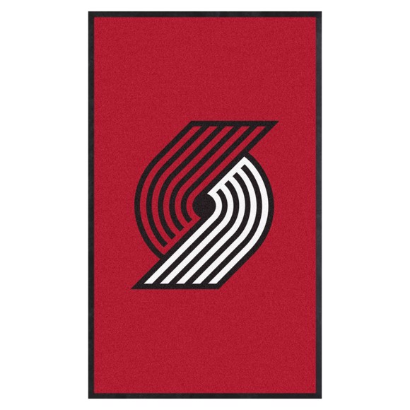 Picture of Portland Trail Blazers 3X5 High-Traffic Mat with Durable Rubber Backing