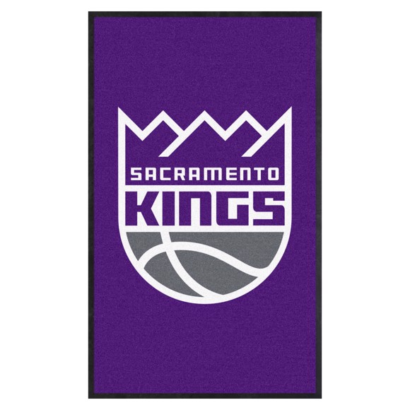 Picture of Sacramento Kings 3X5 High-Traffic Mat with Durable Rubber Backing