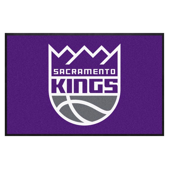 Picture of Sacramento Kings 4X6 High-Traffic Mat with Durable Rubber Backing