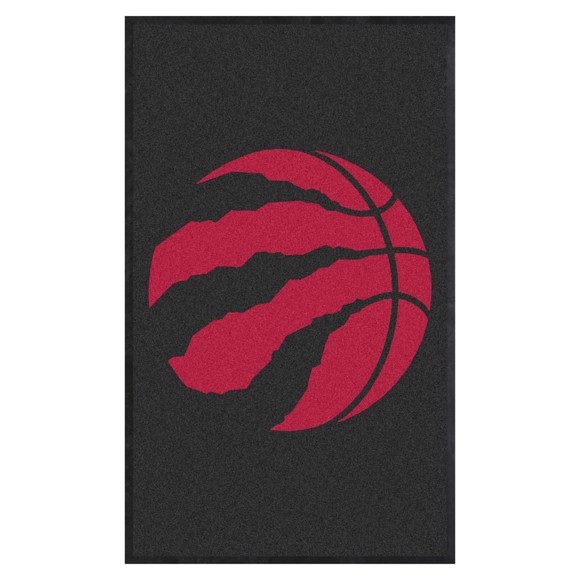 Picture of Toronto Raptors 3X5 High-Traffic Mat with Durable Rubber Backing