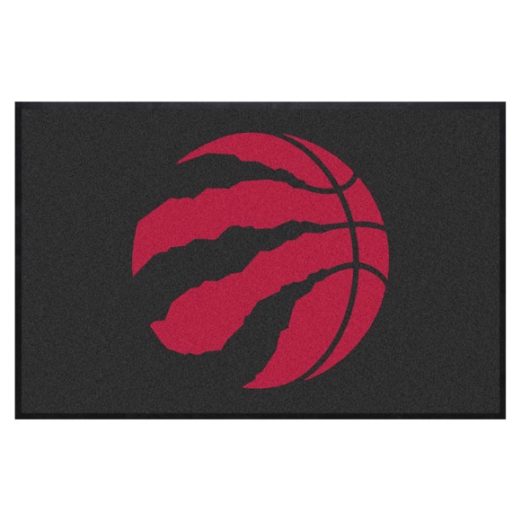 Picture of Toronto Raptors 4X6 High-Traffic Mat with Durable Rubber Backing