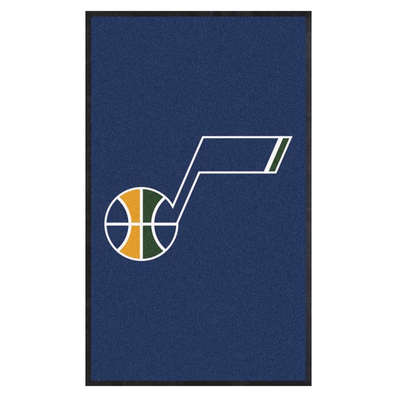 Picture of Utah Jazz 3X5 High-Traffic Mat with Durable Rubber Backing