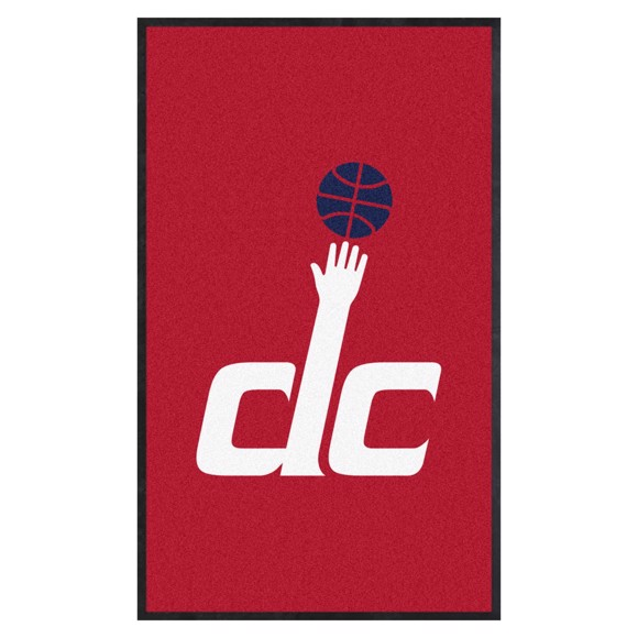 Picture of Washington Wizards 3X5 High-Traffic Mat with Durable Rubber Backing