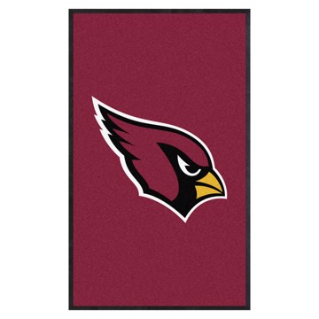 Picture of Arizona Cardinals 3X5 High-Traffic Mat with Durable Rubber Backing