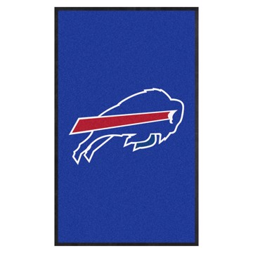 Picture of Buffalo Bills 3X5 High-Traffic Mat with Durable Rubber Backing