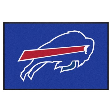 Picture of Buffalo Bills 4X6 High-Traffic Mat with Durable Rubber Backing