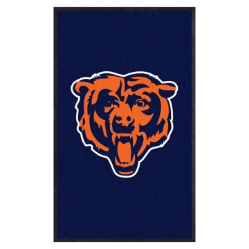 Picture of Chicago Bears 3X5 High-Traffic Mat with Durable Rubber Backing