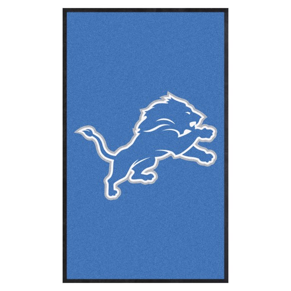 Picture of Detroit Lions 3X5 High-Traffic Mat with Durable Rubber Backing