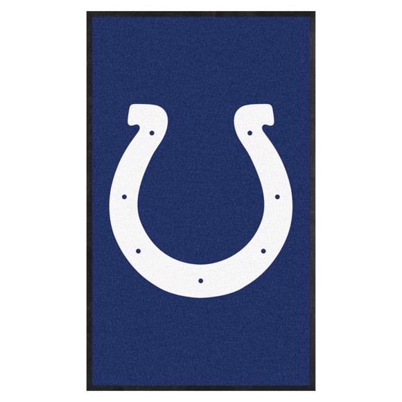 Picture of Indianapolis Colts 3X5 High-Traffic Mat with Durable Rubber Backing