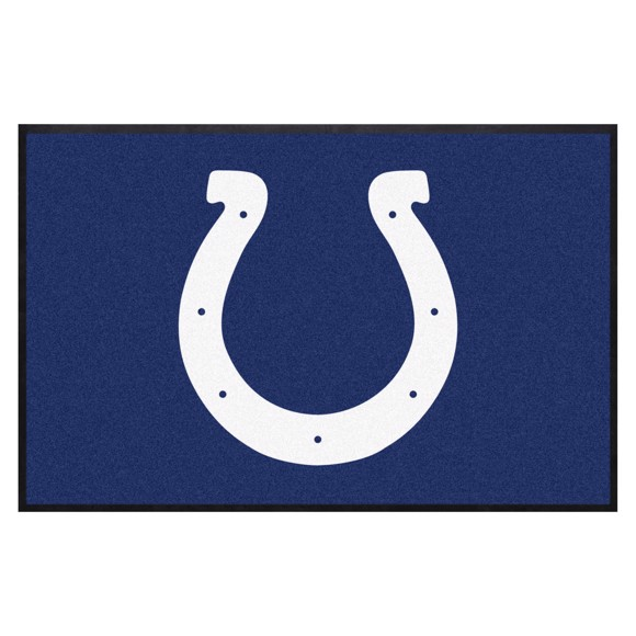 Picture of Indianapolis Colts 4X6 High-Traffic Mat with Durable Rubber Backing