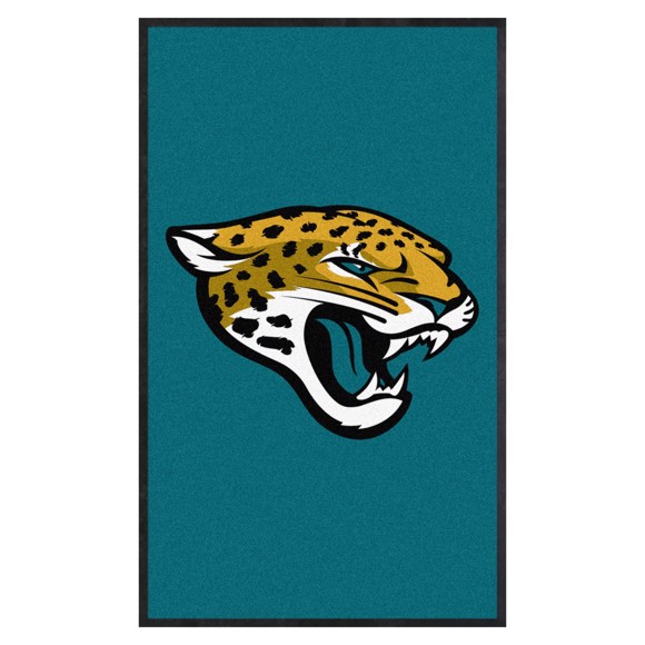 Picture of Jacksonville Jaguars 3X5 High-Traffic Mat with Durable Rubber Backing