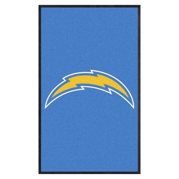 Picture of Los Angeles Chargers 3X5 High-Traffic Mat with Durable Rubber Backing