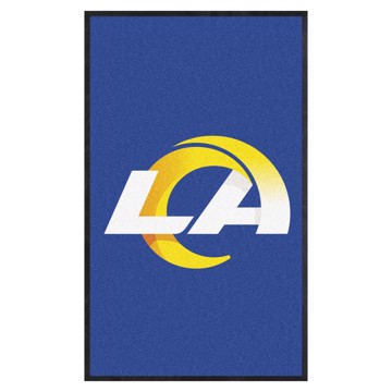 Picture of Los Angeles Rams 3X5 High-Traffic Mat with Durable Rubber Backing