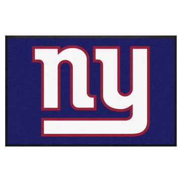 Picture of New York Giants 4X6 High-Traffic Mat with Durable Rubber Backing