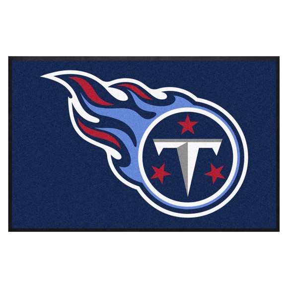 Picture of Tennessee Titans 4X6 High-Traffic Mat with Durable Rubber Backing