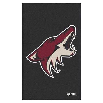 Picture of Arizona Coyotes 3X5 High-Traffic Mat with Durable Rubber Backing