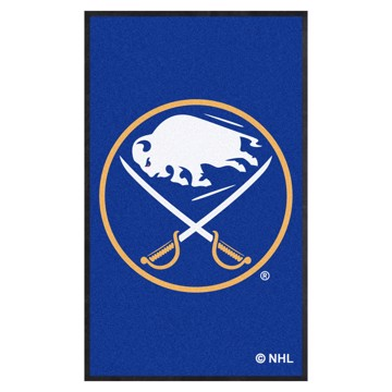 Picture of Buffalo Sabres 3X5 High-Traffic Mat with Durable Rubber Backing