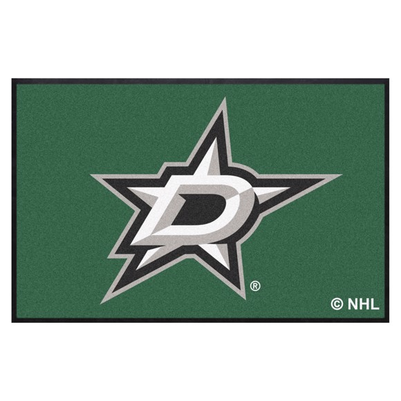 Picture of Dallas Stars 4X6 High-Traffic Mat with Durable Rubber Backing