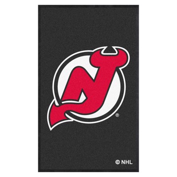 Picture of New Jersey Devils 3X5 High-Traffic Mat with Durable Rubber Backing