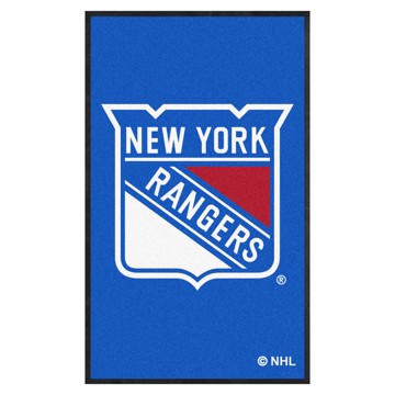 Picture of New York Rangers 3X5 High-Traffic Mat with Durable Rubber Backing
