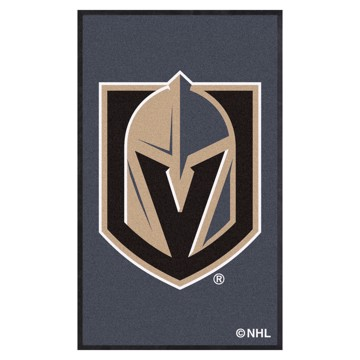 Picture of Vegas Golden Knights 3X5 High-Traffic Mat with Durable Rubber Backing