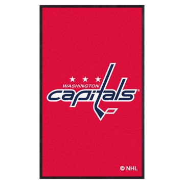 Picture of Washington Capitals 3X5 High-Traffic Mat with Durable Rubber Backing