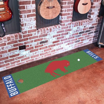 Picture of Buffalo Bills Putting Green Mat - Vintage
