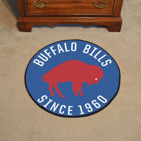 Picture of Buffalo Bills Roundel Mat - Vintage