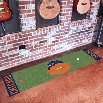 Picture of Chicago Bears Putting Green Mat - Vintage