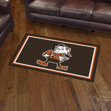 Picture of Cleveland Browns 3x5 Rug - Vintage
