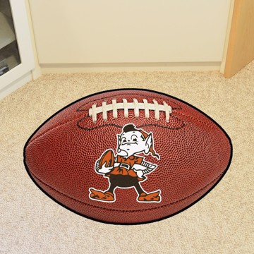 Picture of Cleveland Browns Football Mat - Vintage