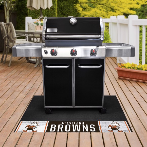 Picture of Cleveland Browns Grill Mat - Vintage