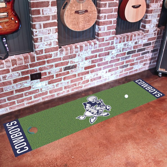 Picture of Dallas Cowboys Putting Green Mat - Vintage