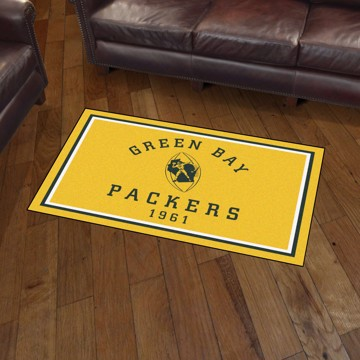 Picture of Green Bay Packers 3x5 Rug - Vintage
