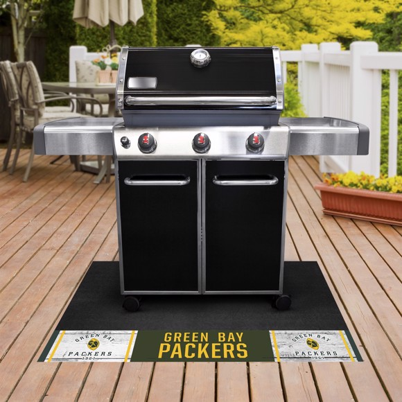Picture of Green Bay Packers Grill Mat - Vintage