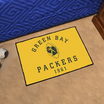 Picture of Green Bay Packers Starter Mat - Vintage