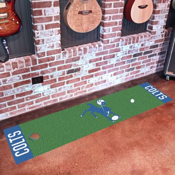 Picture of Indianapolis Colts Putting Green Mat - Vintage