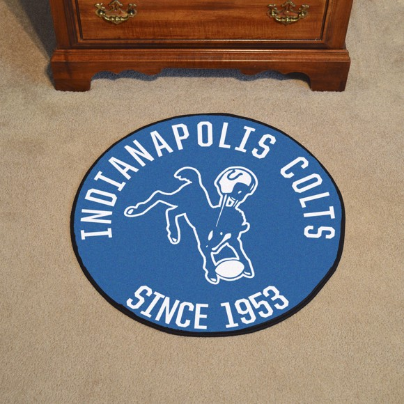 Picture of Indianapolis Colts Roundel Mat - Vintage