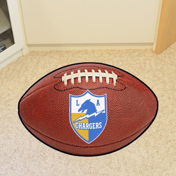 Picture of Los Angeles Chargers Football Mat - Vintage