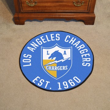 Picture of Los Angeles Chargers Roundel Mat - Vintage