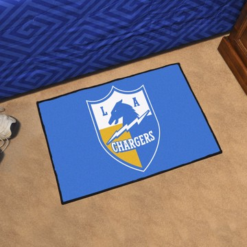 Picture of Los Angeles Chargers Starter Mat - Vintage