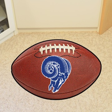 Picture of Los Angeles Rams Football Mat - Vintage